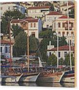 Kas Antalya Turkey  Wood Print