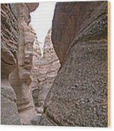 Kasha Katuwe Tent Rock Canyon 2 Wood Print