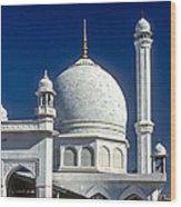 Kashmir Mosque Wood Print by Steve Harrington
