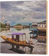 Kashmir - The Paradise On Earth Wood Print