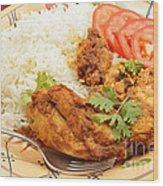 Kashmiri Chicken Wood Print