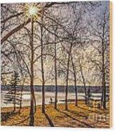 Katepwa Lake In Saskatchewan Wood Print