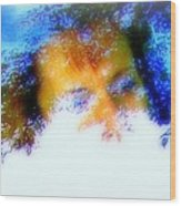 A Face To Call Home Wood Print