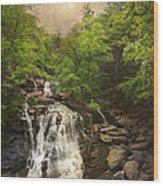 Katterskill Falls Wood Print