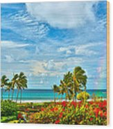 Kauai Bliss Wood Print