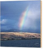 Kauai Rainbow Wood Print