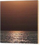 Kauai Sunrise 1 Wood Print