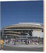 Kauffman Stadium - Kansas City Royals Wood Print