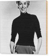 Kay Kendall, Ca. Mid-1950s Wood Print