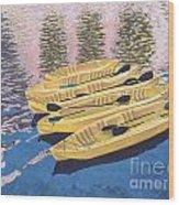 Kayak Dream Wood Print