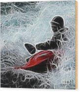Kayaker 2 Wood Print