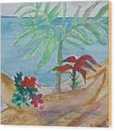 Kayuco Planter Sketch Wood Print