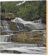 Kbal Chhay Waterfalls Wood Print