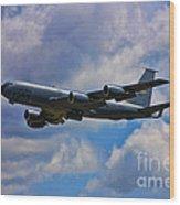 Kc-135 Stratotanker Wood Print