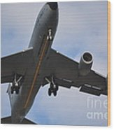 Kc135 Military Aircraft  Picture C Wood Print