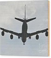 Kc135 Military Aircraft  Picture E Wood Print