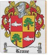 Keane Coat Of Arms Clare Ireland Wood Print