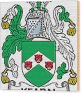 Kearn Coat Of Arms Irish Wood Print