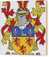 Kearney Coat Of Arms Irish Wood Print