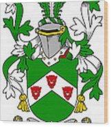 Kearns Coat Of Arms Irish Wood Print