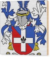 Keenan Coat Of Arms Irish Wood Print