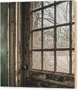 Keep Door Locked Wood Print