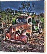 Keep On Truckin Wood Print