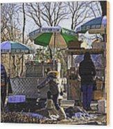 Keep Park Clean - Central Park - Nyc Wood Print