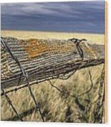 Keep The Gate Post Steady Wood Print