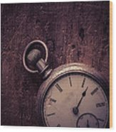 Keeping Time Wood Print