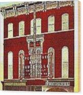 Keith's Jewel Vaudeville Theatre In Easton Pa In 1910 Wood Print
