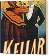 Kellar Toasts The Devil Wood Print