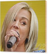 Kelli Pickler Wood Print