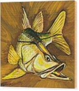 Kelly B's Snook Wood Print