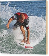 Kelly Slater World Surfing Champion Copy Wood Print