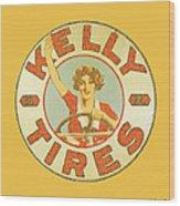 Kelly Tires  Wood Print