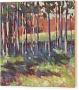 Kelly's Trees Wood Print