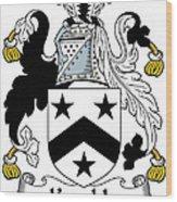 Kemble Coat Of Arms Irish Wood Print