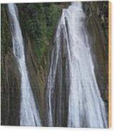 Kempty Falls Wood Print