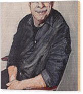 Ken Bruce Wood Print