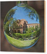 Kendal Hall Chico State University Wood Print