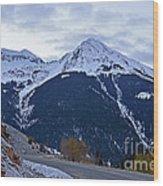 Kendall Mountain Morning Wood Print