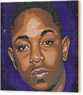 Kendrick Had A Dream Wood Print