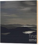Kenmare Bay By Night Wood Print