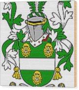 Kennagh Coat Of Arms Irish Wood Print