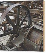 Kennecott Copper Mill Wood Print