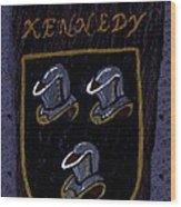 Kennedy Crest Wood Print