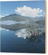 Kennedy Lake Wood Print