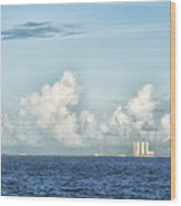 Kennedy Space Center Wood Print