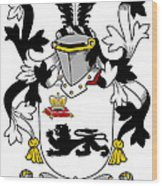 Kennelly Coat Of Arms Irish Wood Print